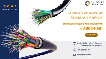 Fiber Optic Cables and Solutions Abu Dhabi