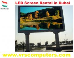 LED Screen Rental at VRS Technologies in Dubai