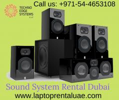 Sound System Rental Companies in Dubai & UAE - Techno Edge  Systems
