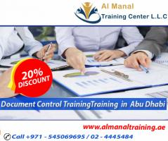 Document Control Training in Abu Dhabi