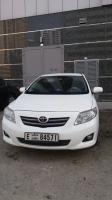 Car Toyota Corolla , White -1.8L, XLI 2009