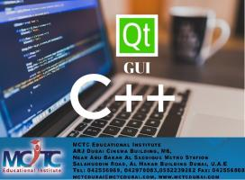 C++ programming in Qt framework course at Dubai – MCTC Dubai