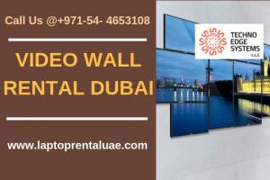 Video Wall Rental Dubai  - 3×3 Video Wall Rental UAE