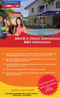 BBA/BA(HONS) FROM BRITISH UNIVERSITY WITH AFFORDABLE PRICE
