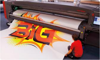 Multi Color Large Format Printing Services In Dubai