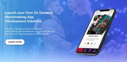 On Demand Dating App Development Company In UAE | Matchmaking App Development Services & Solutions | Apps On Demand