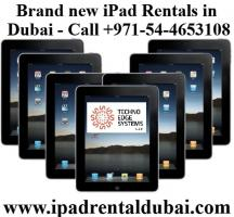 iPad Rental Company Dubai - Contact +971-54-4653108