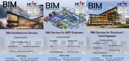 BIM (Building Information Modeling) Training in Dubai