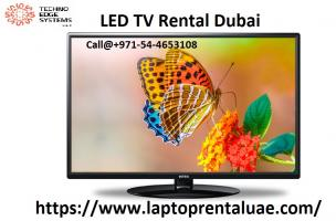 Call@054-4653108  LED TV Rental in Dubai